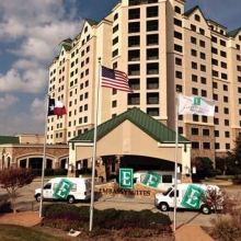 Embassy Suites Outdoor World Hotel DFW Logo