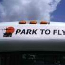 Park To Fly MCO Logo