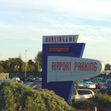 Burlingame Airport Parking SFO Logo