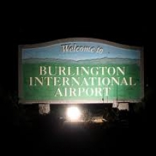 Burlington Airport General Parking Garage BTV Logo