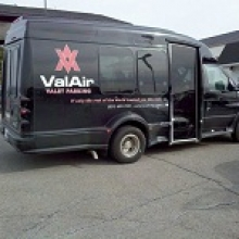 ValAir Valet Parking CVG Logo
