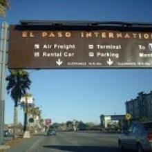 El Paso International Airport Long Term Parking ELP Logo