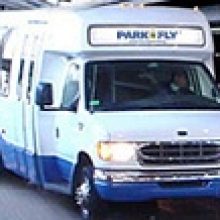 Park Shuttle and Fly PDX Logo