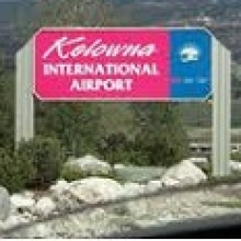 Kelowna International Airport Parking YLW Logo