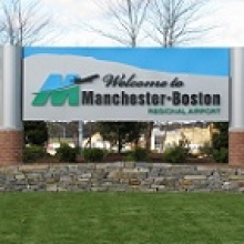 Manchester-Boston Regional Airport Long-Term MHT Logo