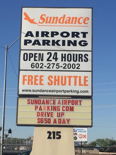 Sundance Airport Parking PHX Logo