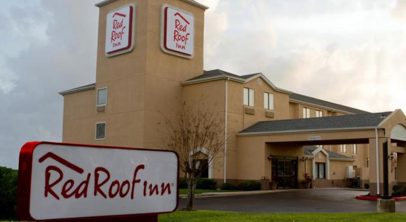 Red Roof Inn IAH Logo