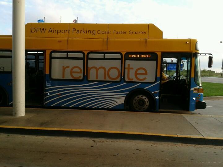Dallas/Ft. Worth Airport - Remote Parking DFW Logo
