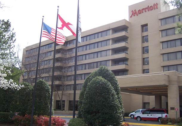 Huntsville Marriott HSV Logo
