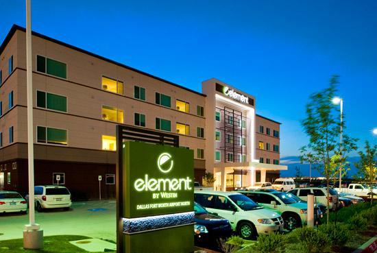 Element Dallas Fort Worth Airport North DFW Logo