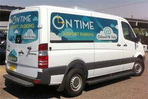 OnTime Airport Parking ABQ Logo