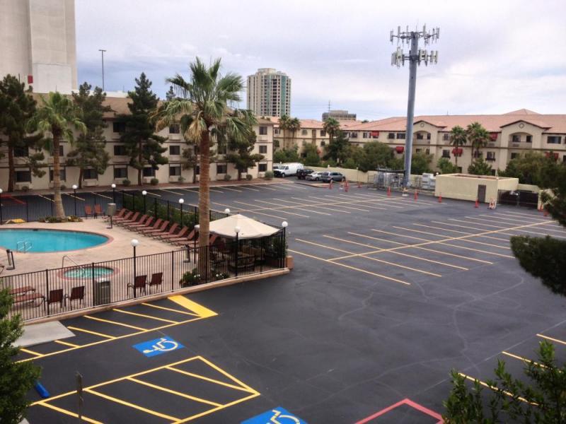 Super 8 Las Vegas Strip Area at Ellis Island Casino LAS Logo