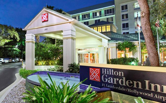 Hilton Garden Inn Ft. Lauderdale Airport-Cruise Port Parking (FLZ ...