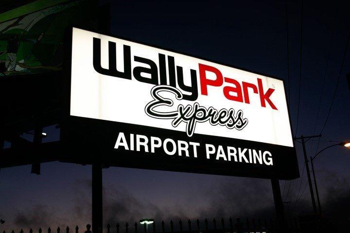 WallyPark Express Airport Parking LAX Logo
