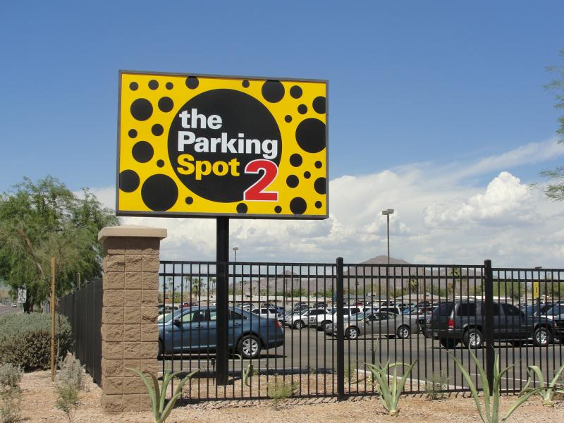 The Parking Spot 2 PHX Logo