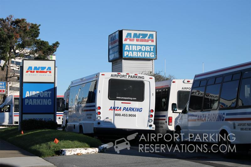 Anza Parking SFO Logo