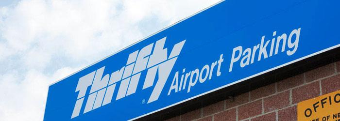 Thrifty Airport Parking CHA Logo
