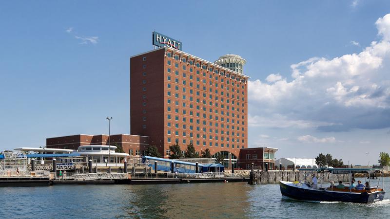Hyatt Harborside Hotel BOS Logo