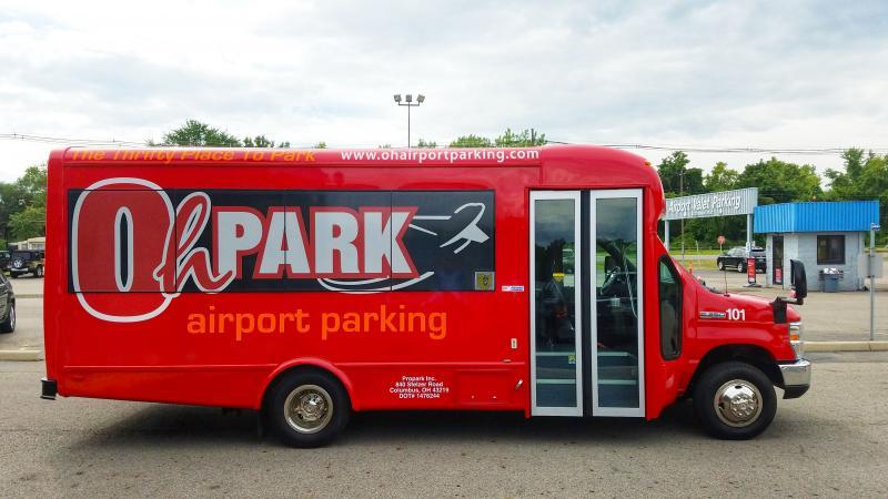 OhPark Airpark Parking CMH Logo