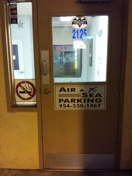Air and Sea Parking FLL Logo