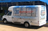 A-1 Express Airport Parking TPA Logo