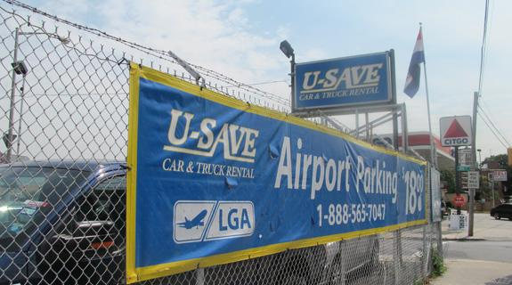USave Car and Truck Rental LGA Logo