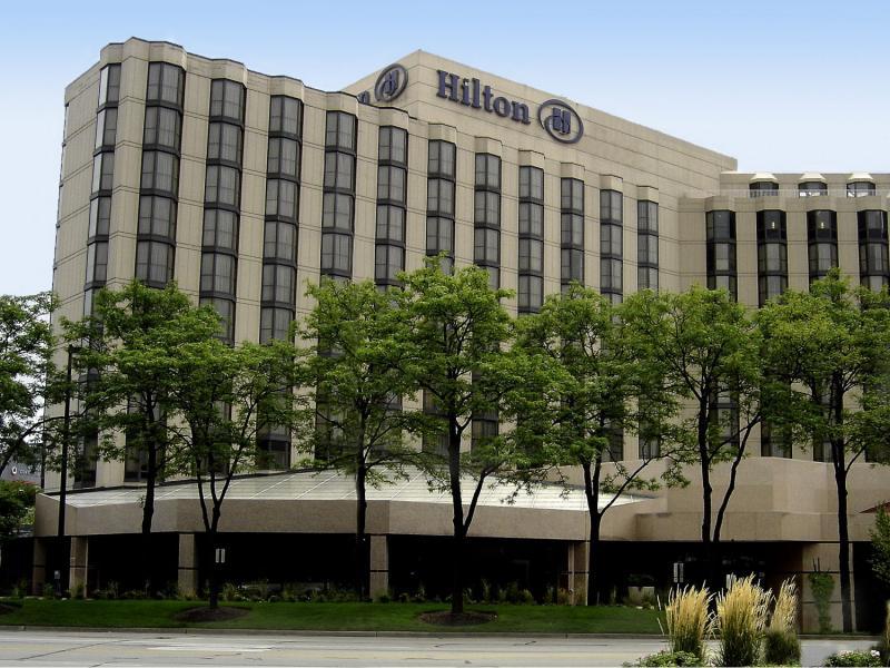Hilton Rosemont/Chicago O'Hare ORD Logo