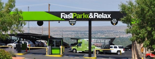 FastPark & Relax ABQ Logo