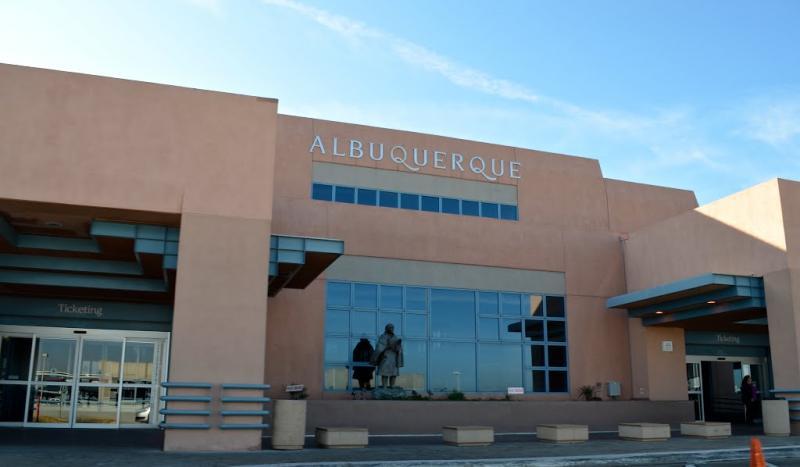 Albuquerque International ABQ Logo