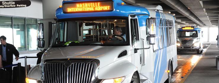 Nashville International Airport Parking BNA Logo