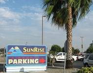 Sunrise Airport Parking ONT Logo