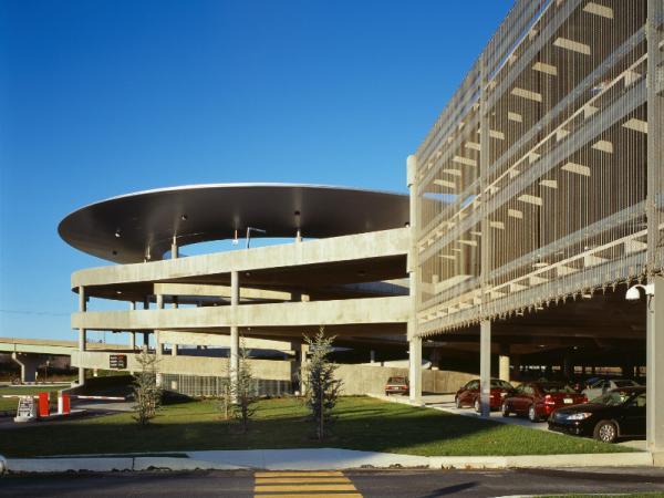 Harrisburg Airport Parking Garage MDT Logo
