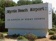 Myrtle Beach International Airport MYR Logo