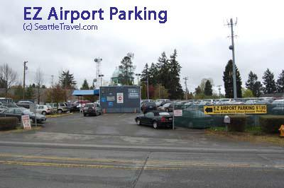 E-Z  Airport Parking SEA Logo