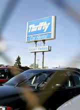 Thrifty Airport Parking ORD Logo