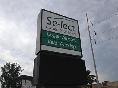Select Airport Valet Parking BOS Logo