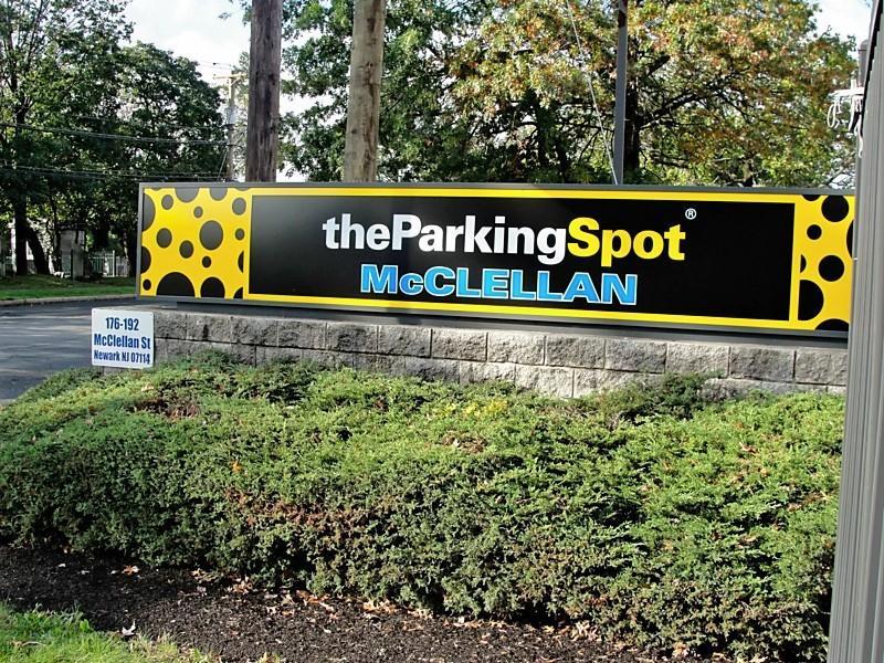 The Parking Spot McClellan EWR Logo