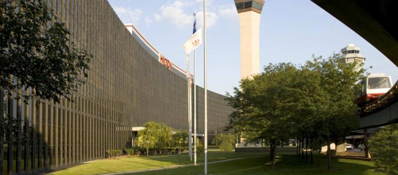 Hilton Chicago O'Hare Airport ORD Logo