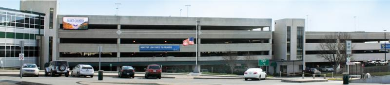 Yeager Airport Long-term Parking CRW Logo