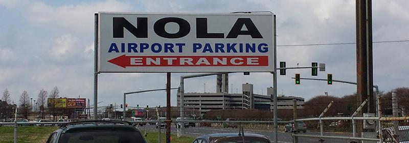 NOLA Airport Parking MSY Logo