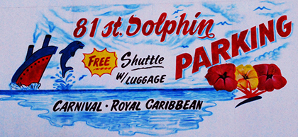 81st Dolphin Parking (Port of Galveston Only)